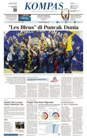 Cover KOMPAS 16 Juli 2018