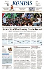 Cover KOMPAS 11 Agustus 2018