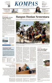 KOMPAS Cover 12 August 2018