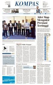 KOMPAS Cover 14 August 2018