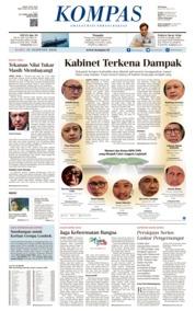 KOMPAS Cover 15 August 2018