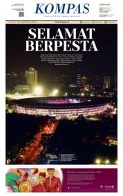 KOMPAS Cover 18 August 2018