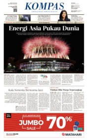 KOMPAS Cover 19 August 2018