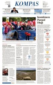 Cover KOMPAS 19 September 2018