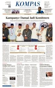 Cover KOMPAS 22 September 2018