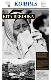 KOMPAS Cover 30 September 2018