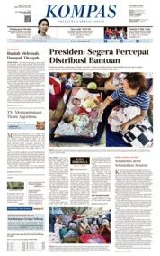 KOMPAS Cover 04 October 2018