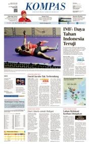 KOMPAS Cover 10 October 2018