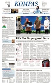 Cover KOMPAS 10 Januari 2019