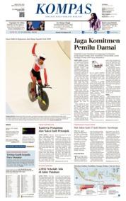 Cover KOMPAS 11 Januari 2019