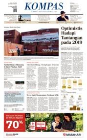 Cover KOMPAS 12 Januari 2019