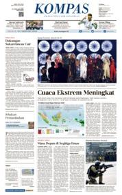 KOMPAS Cover 12 February 2019