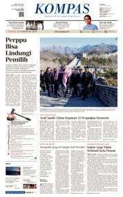 KOMPAS Cover 23 February 2019