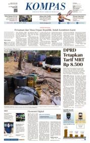 Cover KOMPAS 26 Maret 2019