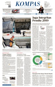 KOMPAS Cover 12 April 2019