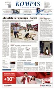 KOMPAS Cover 16 April 2019