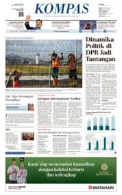 KOMPAS Cover 23 April 2019