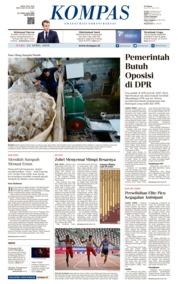 KOMPAS Cover 24 April 2019