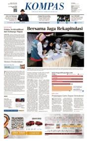 Cover KOMPAS 25 April 2019