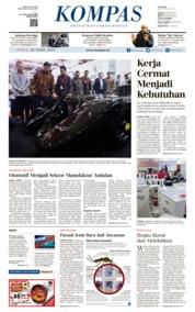 KOMPAS Cover 26 April 2019