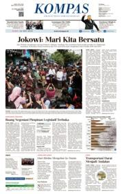 KOMPAS Cover 22 May 2019