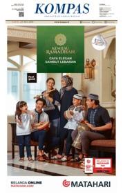 KOMPAS Cover 25 May 2019