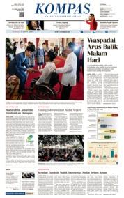 KOMPAS Cover 07 June 2019
