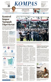 KOMPAS Cover 17 July 2019