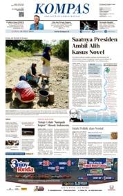 KOMPAS Cover 18 July 2019