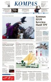 KOMPAS Cover 19 July 2019