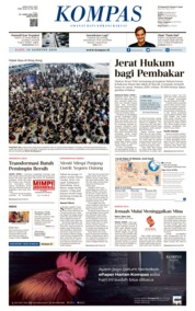 Cover KOMPAS 14 Agustus 2019
