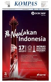 KOMPAS Cover 15 August 2019