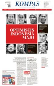 KOMPAS Cover 16 August 2019