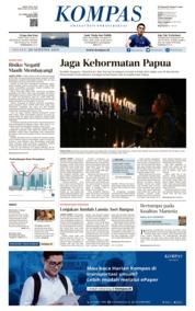 Cover KOMPAS 20 Agustus 2019