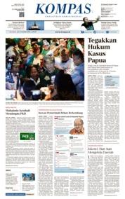 Cover KOMPAS 21 Agustus 2019