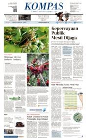 KOMPAS Cover 09 September 2019