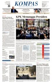 KOMPAS Cover 14 September 2019