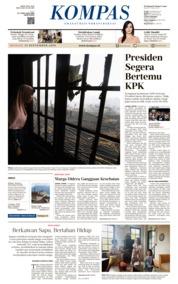 KOMPAS Cover 15 September 2019