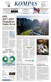 KOMPAS Cover 30 September 2019