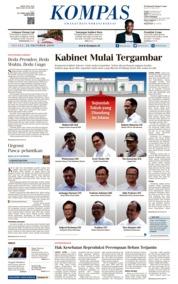KOMPAS Cover 22 October 2019