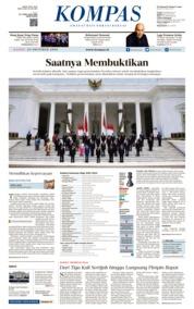 KOMPAS Cover 24 October 2019
