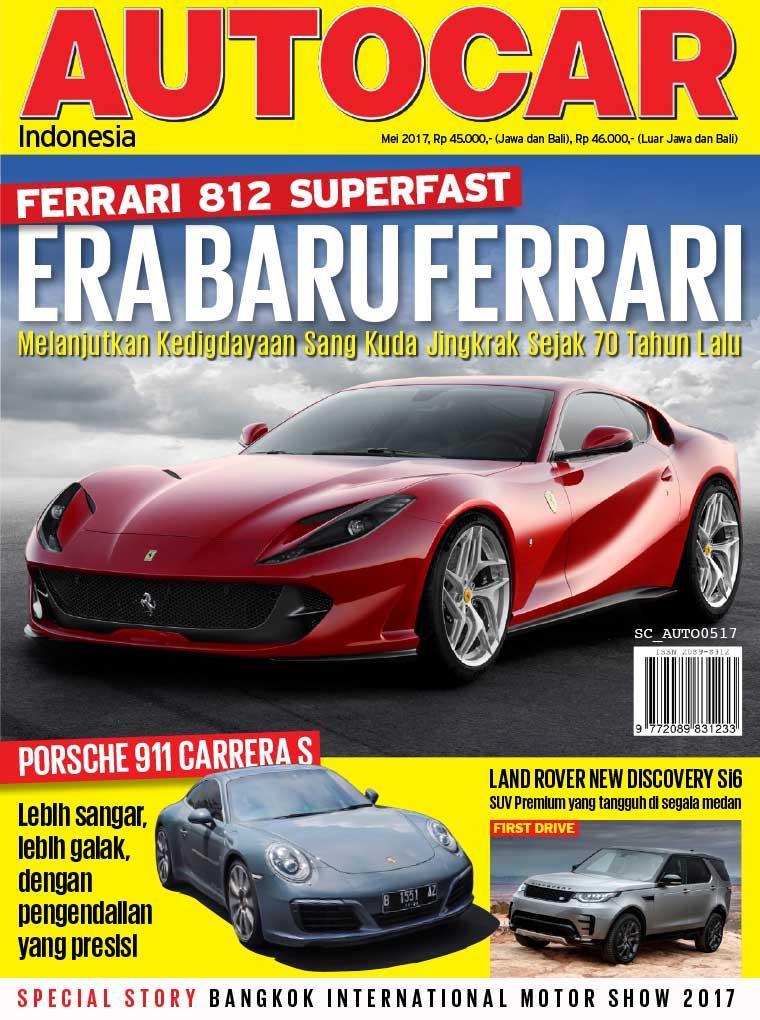 Majalah Digital AUTOCAR Indonesia Mei 2017