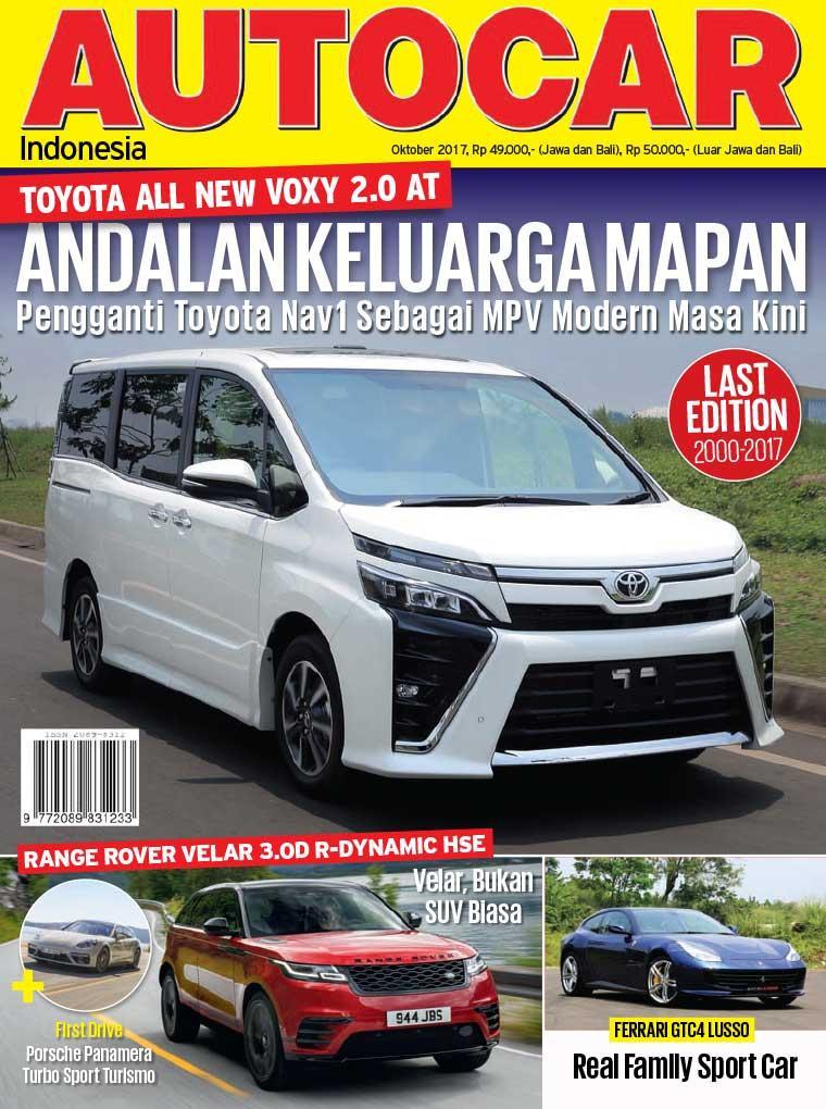 Majalah Digital AUTOCAR Indonesia Oktober 2017