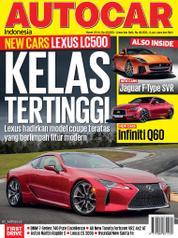 Cover Majalah AUTOCAR Indonesia Maret 2016