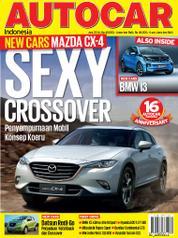 Cover Majalah AUTOCAR Indonesia Juni 2016