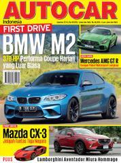 Cover Majalah AUTOCAR Indonesia Agustus 2016