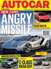 Cover Majalah AUTOCAR Indonesia Oktober 2016