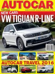 Cover Majalah AUTOCAR Indonesia Desember 2016