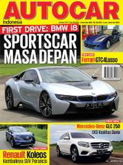 Cover Majalah AUTOCAR Indonesia Januari 2017