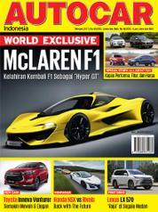 Cover Majalah AUTOCAR Indonesia Februari 2017